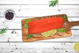 Trout fillet (vacuum packing)