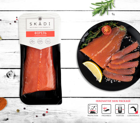 "Trout tail (Slightly salty) ТМ ""SKADI"""