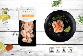 "Boiled marinated shrimps ТМ ""SKADI"""