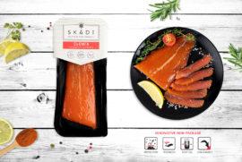 """Salmon tail (Cold smoked) ТМ """"SKADI"""""""