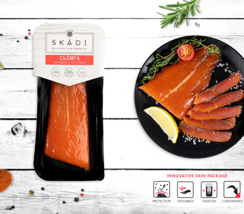 "Salmon tail (Cold smoked) ТМ ""SKADI"""