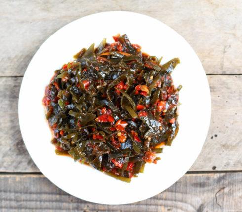 НОВИНКА — морская капуста в остром соусе, Вы уже пробовали?