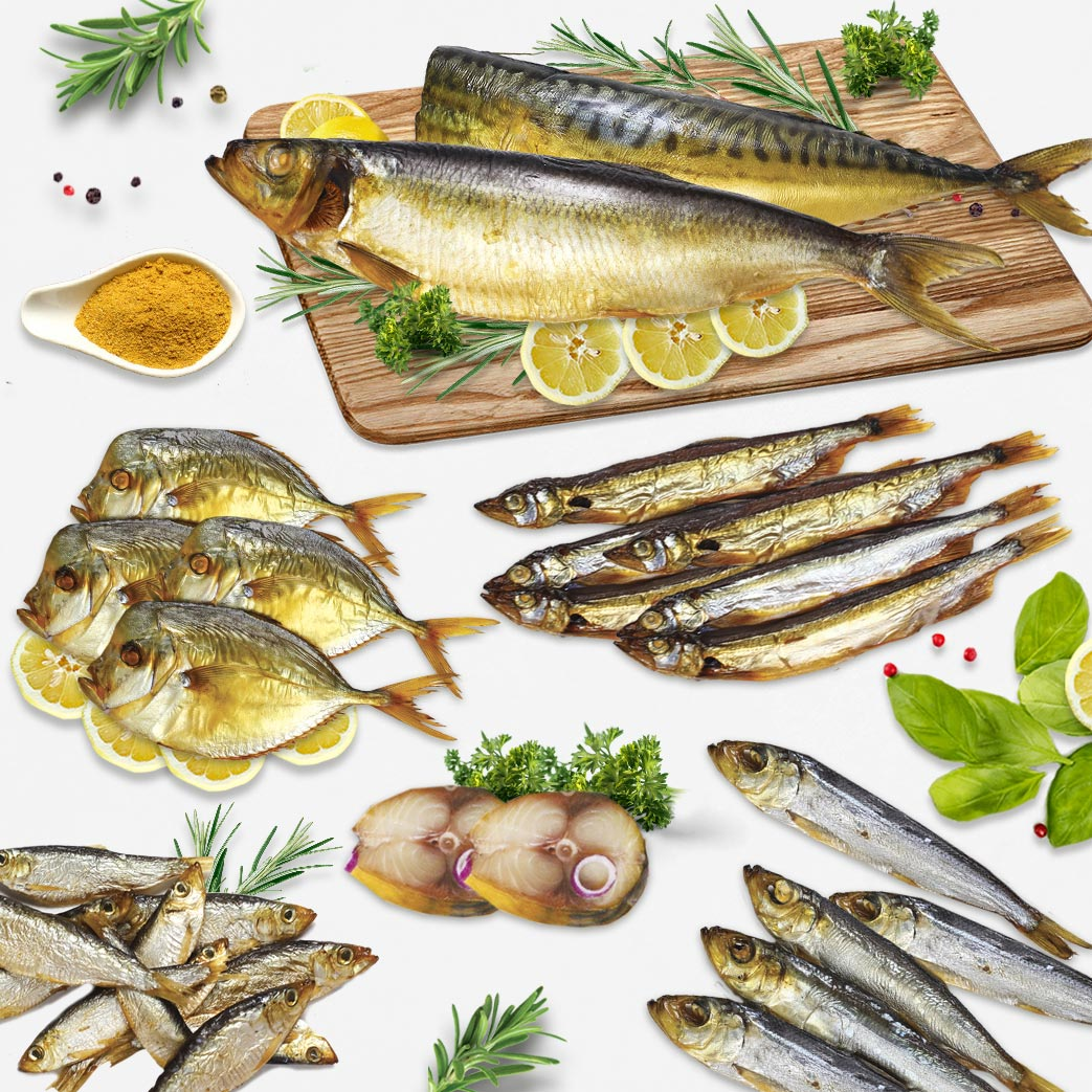 Cold smoked fish